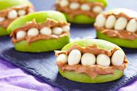 Halloween Apple Monster Mouths