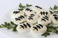 Grey Cup Deviled Eggs