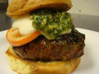 Pesto Burger Recipe