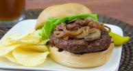 Gluten-Free Caramelized Onion & Mushroom Burgers Recipe