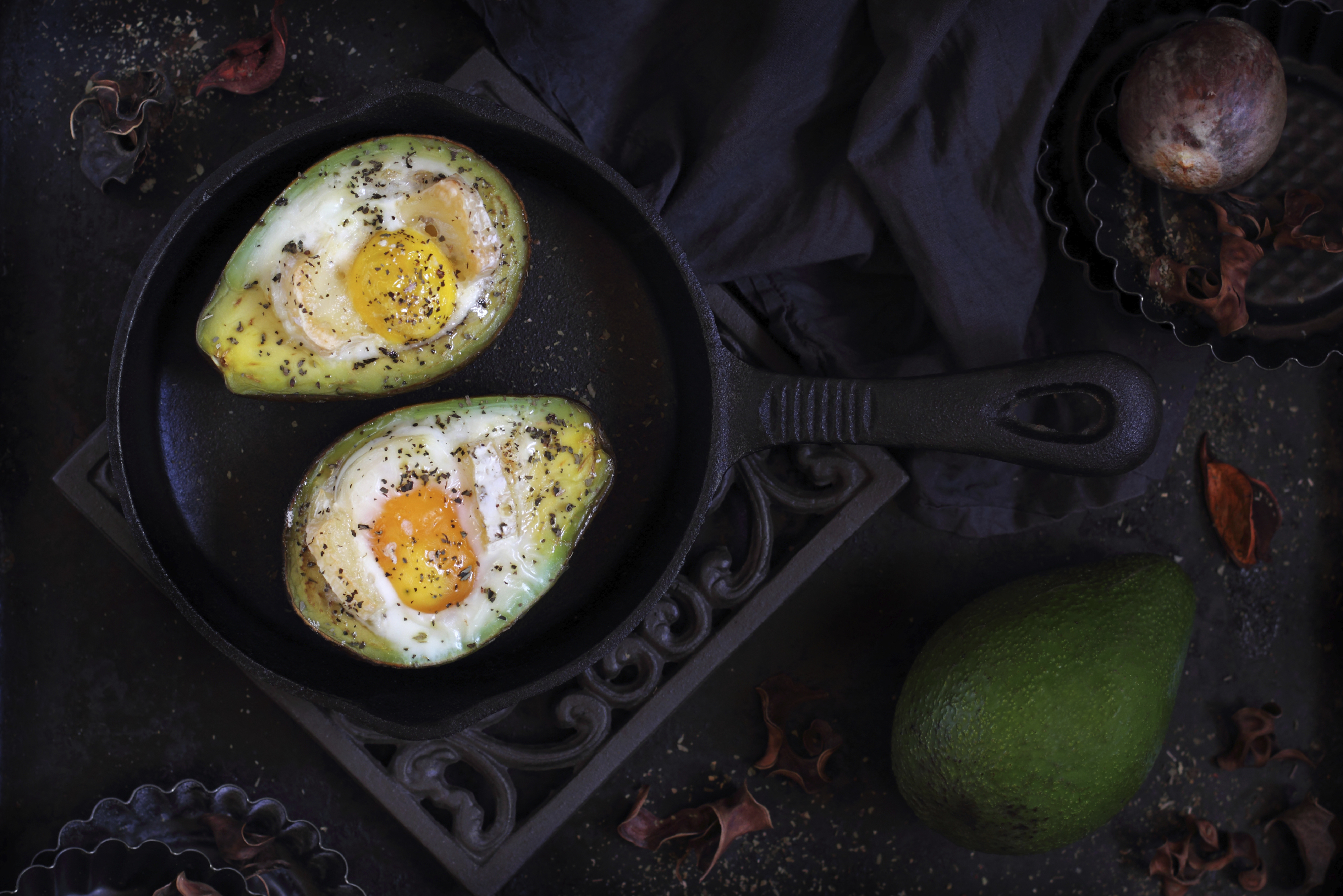 Avocado Fried Egg Recipe