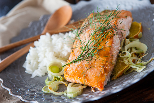 Miso Salmon with Orange and Fennel Recipe List - SaleWhale.ca