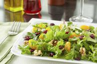 Fresh Orange Romaine Salad Recipe