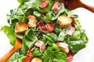 BLT Salad with Buttermilk Dressing Recipe