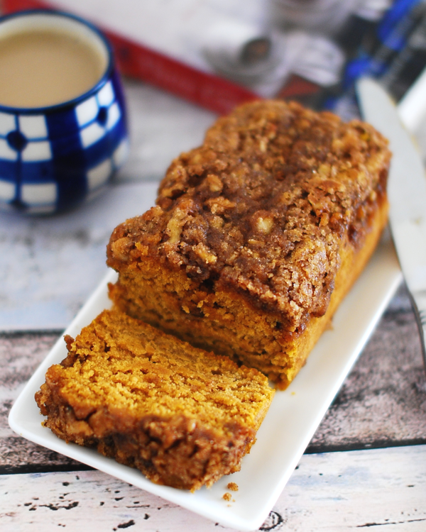 Pumpkin Crunch Coffee Cake Recipe