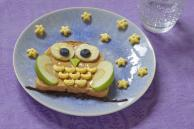 Open-Faced Owl Sandwiches Recipe