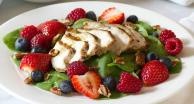 Chicken Berry Salad with Citrus Vinaigrette Recipe