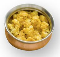 Curried Cauliflower with Brown Mustard Seeds Notes Recipe
