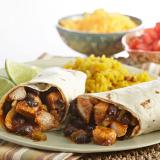 Chicken and Bean Burritos Recipe