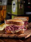 Pulled Corned Beef on Seared Rye Recipe