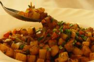 Curried Home Fries Recipe