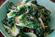 Bok Choy with Ground Chicken Stir Fry Recipe