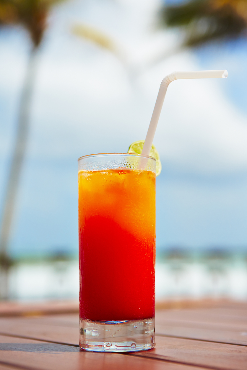 Beachside cocktail recipe list for Cocktail 69 recipe