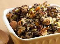 Wild Rice And Goat Cheese Dressing Recipe
