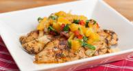 Citrus Chicken with Orange Relish Recipe