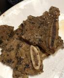 Short ribs of beef with black pepper