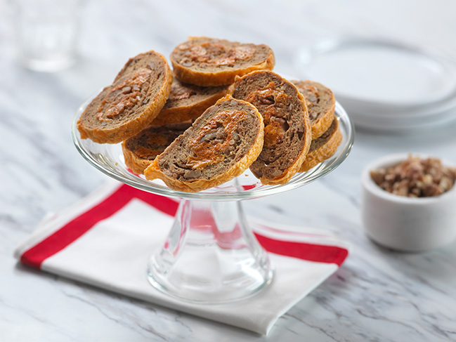 Black Diamond® Walnut Cheddar Biscotti Pinwheels