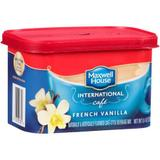 Maxwell House Café, French Vanilla Café Instant Coffee Beverage Mix