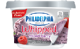 Philadelphia Whipped Mixed Berry Cream Cheese Product