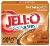 Jell-O Butterscotch Instant Pudding