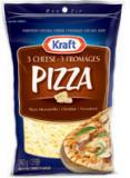 Kraft 3 Cheese Pizza Shredded Cheese