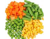 Frozen mixed vegetables (carrots, corn, green beans, peas)