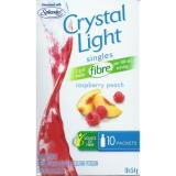 CRYSTAL LIGHT Singles Raspberry Peach Low Calorie Drink Mix
