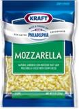 Kraft Creamy Mozza Shredded Cheese with a Touch of Philadelphia
