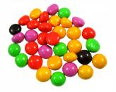 Candy-coated chocolate pieces