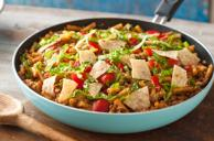 One-Pan Taco Beef and Noodle Skillet