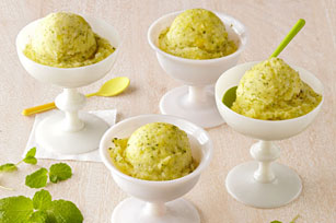 Tropical Citrus-Mint Sorbet