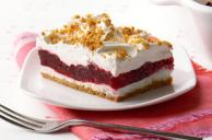 Raspberry Layered Dessert
