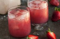 Strawberry and Coconut Water Chiller