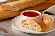 Pizza Roll-Ups with Dipping Sauce
