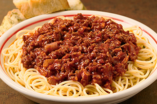 Classic Spaghetti and Meat Sauce