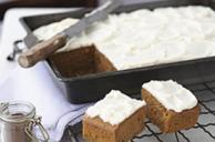 Pumpkin Spice Frosted Snack Bars