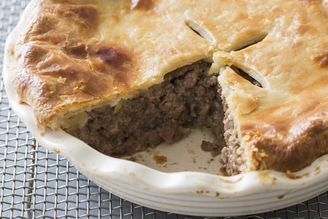 country meat and potato pie recipe list