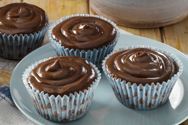Cupcakes with Chocolate-Peanut Butter Icing Recipe List ...