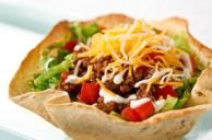 Turkey Taco Salad Bowl
