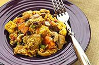Curried Chicken with Sweet Potatoes