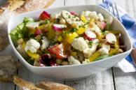 Chicken and Cauliflower Salad for a Crowd