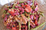 Grilled Vegetable and Bean Medley