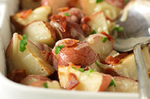 Roasted Potatoes With Bacon, Cheese, And Parsley Recipes — Dishmaps