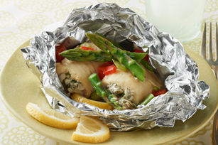 Grilled fish foil packets recipe list for Fish foil packets oven