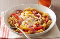 Sausage & Peppers with Rotini Pasta