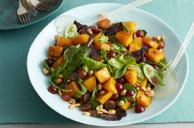 Roasted Squash and Mixed Greens Salad