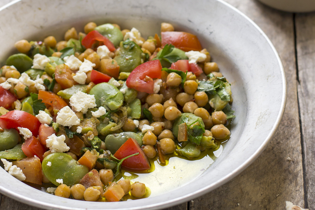 Zesty Chickpea Salad with Feta Recipe List - SaleWhale.ca