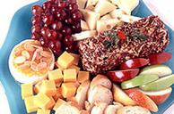 Cheese and Fruit Dessert Tray