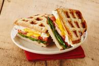 Grilled Egg and Bacon Wafflewich