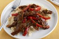 Barbecue Beef and Rice